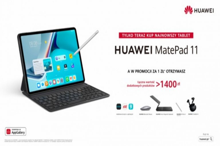 MatePad 11, najnowszy tablet Huawei już w sprzedaży w atrakcyjnej cenie