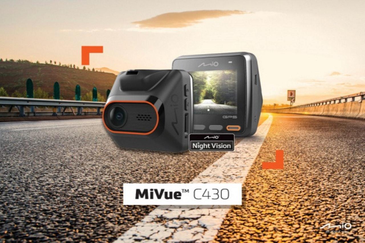 Mio MiVue C430 – wideorejestrator gwarantujący pełen obraz sytuacji na drodze